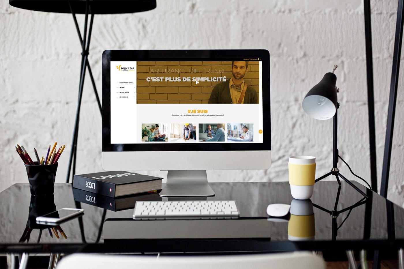 solly azar inaugure sa transformation digitale solly azar assurances. Black Bedroom Furniture Sets. Home Design Ideas